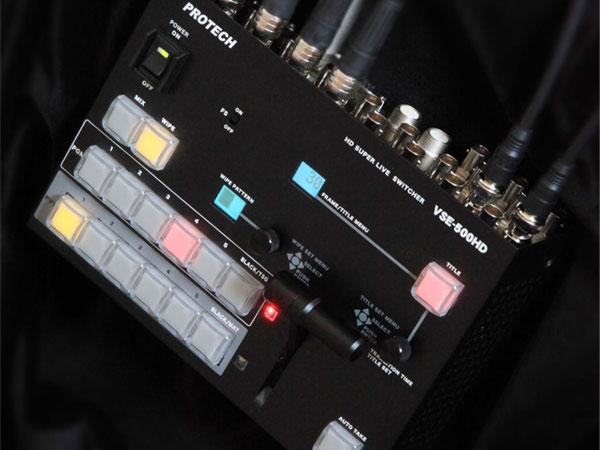 HDコンパクトライブスイッチャー