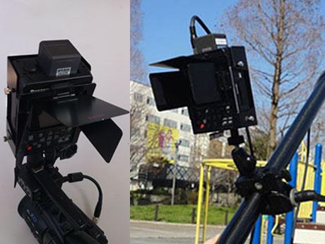 POVCAM AG-HMR10専用 ホルダー&フード